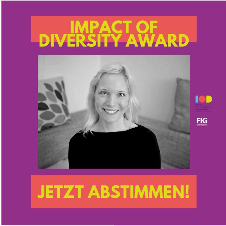 "Nominierung ""Impact of Diversity Award 2021"""